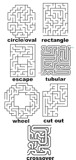 Gamers manual maze of choices