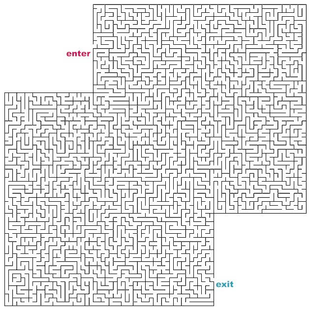 difficult mazes to print - photo #15