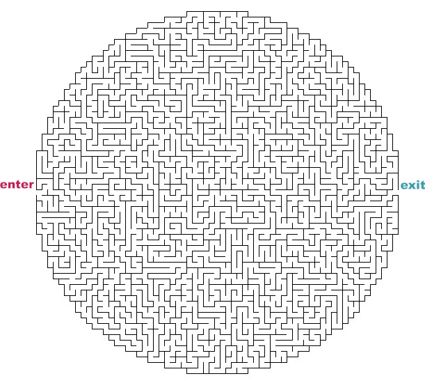 difficult mazes to print - photo #33