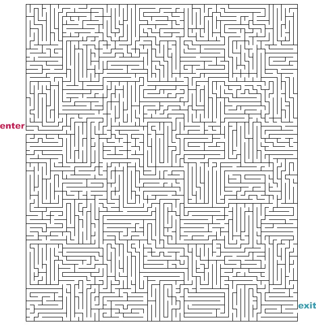 Pin Hard Maze Colouring Pages on Pinterest