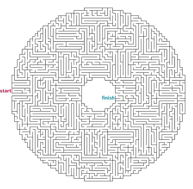 difficult mazes to print - photo #24