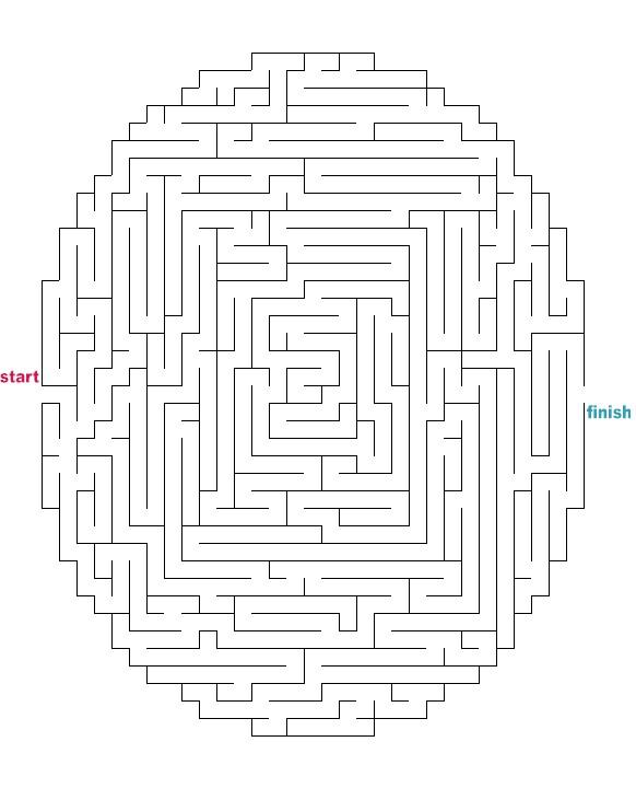 Comprehensive image inside printable mazes medium